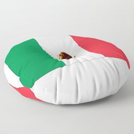 mexican's flag Floor Pillow