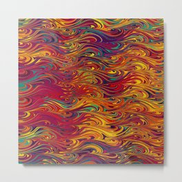 Wave Of Colors 2 Metal Print