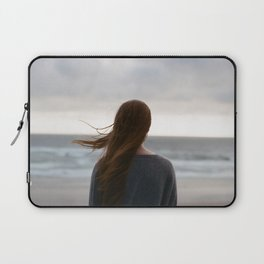 Windy Hair Laptop Sleeve