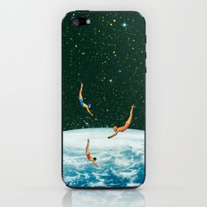 Space jumps iPhone & iPod Skin