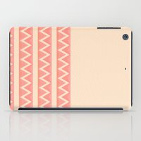 peach iPad Cases featuring Peach by Lyle Hatch