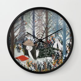 summers day Wall Clock