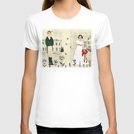 Mr.Darcy of Pemberley and Miss Bennet of Longbourn T-shirt