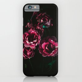 Rose flowers Painting iPhone Case