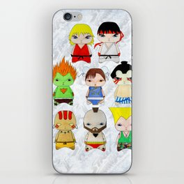 A Boy - Street fighter iPhone Skin