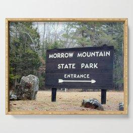 Explore Morrow Mountain Serving Tray