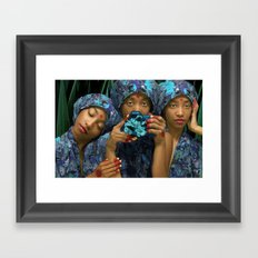 Hear No Evil, See No Evil, Shoot No Evil Framed Art Print