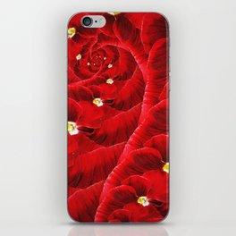 Floral Vortex. iPhone Skin