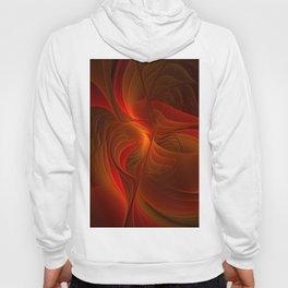 Warmth, Abstract Fractal Art Hoody