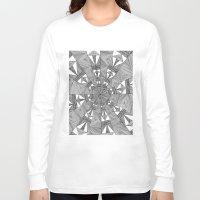kaleidoscope Long Sleeve T-shirts featuring Kaleidoscope by Michalacaney