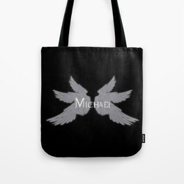Archangel Michael with Wings Tote Bag