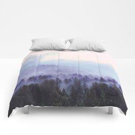 Purple Fog Comforters