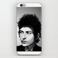 dylan iPhone & iPod Skins featuring Bob Dylan by Studio Caro △