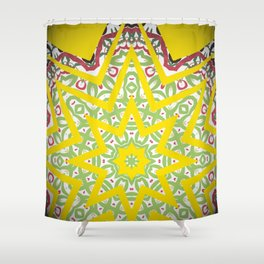 Kaleid44 Shower Curtain