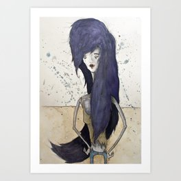 Marceline the Vampire Queen Art Print