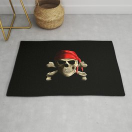 The Jolly Roger Rug