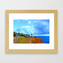Point Vicente Light House Framed Art Print