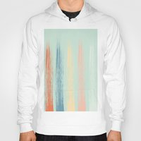 the strokes Hoodies featuring Paint Strokes by AngelicaRoesler