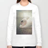 serenity Long Sleeve T-shirts featuring Serenity by Pauline Fowler ( Polly470 )