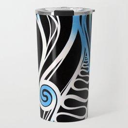 waves of energy Travel Mug