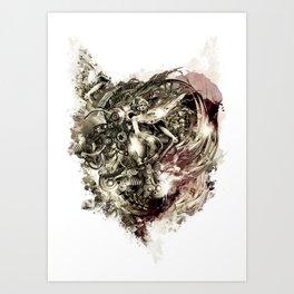 Hate Machine Art Print
