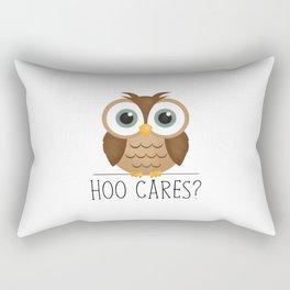 Hoo Cares? Rectangular Pillow