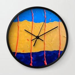 Abstract #6 Wall Clock
