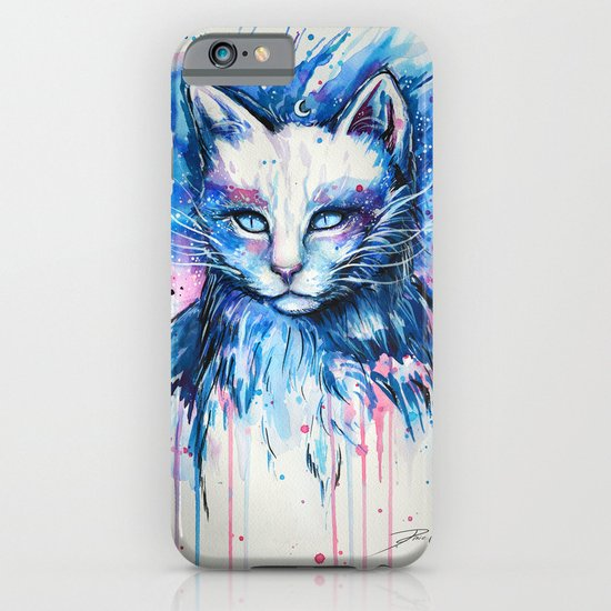 """Space cat"" iPhone & iPod Case"