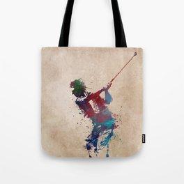 Golf player art 1 Tote Bag