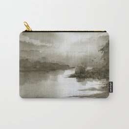 A Splash of Sepia Carry-All Pouch