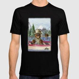 Fisherman Bear T-shirt