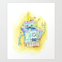Error! Art Print