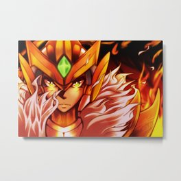 Fired Up Metal Print