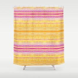 Summer Stripe Shower Curtain