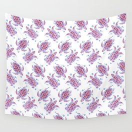 Beautiful Decorative Abstract Turtles Wall Tapestry