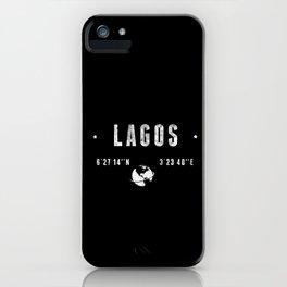 Lagos iPhone Case