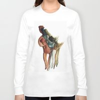 contemporary Long Sleeve T-shirts featuring Contemporary Dance by Mariana Baldaia