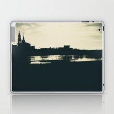 Silhouette des Dresdener Elbufers Laptop & iPad Skin