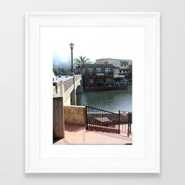 Morning in Capitola Framed Art Print