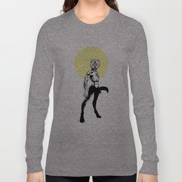 Loup-garou Femme Long Sleeve T-shirt