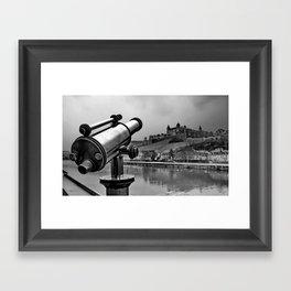 Castle Wuerzburg Framed Art Print