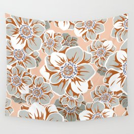 Mandala Flowers 14 Wall Tapestry