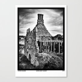 Sliping Away Galway Canvas Print
