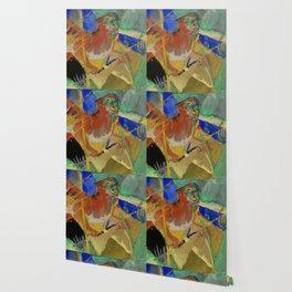 "Franz Marc ""Tiger in the Jungle"" Wallpaper"