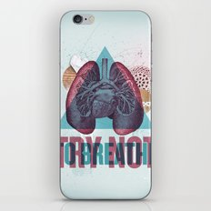 TRY NOT TO BREATHE iPhone Skin