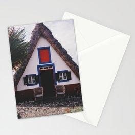 Santana houses Stationery Cards