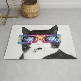 Laser Cat Rug