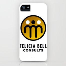 Felicia Bell Consultants iPhone Case