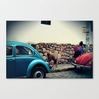 peru Canvas Prints featuring Peru by glwadys