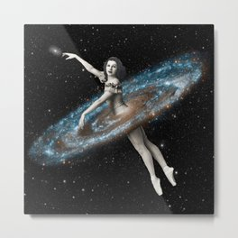 Cosmic Ballerina, Part 3 Metal Print